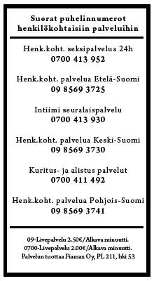 suomi keskustelu kuhmo live puhelinseksi